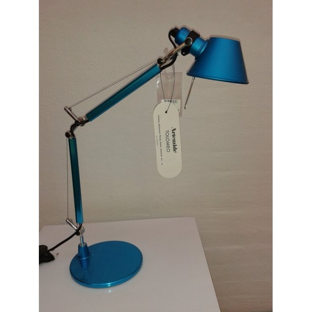 Tolomeo Micro bordlampe blå (Udstillingsmodel)