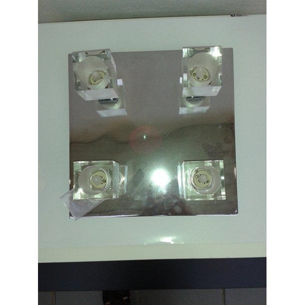 Tresco loftlampe krom (Udstillingsmodel)