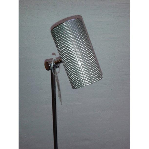 Formula 1 gulvlampe silver (Udstillingsmodel)