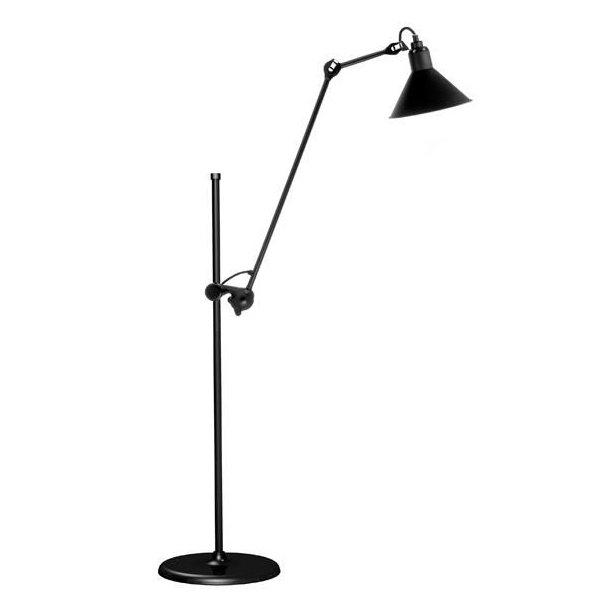 No 215 gulvlampe satin (udstillingsmodel)
