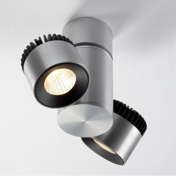 Zoom 2 loftlampe alu (Udstillingsmodel)