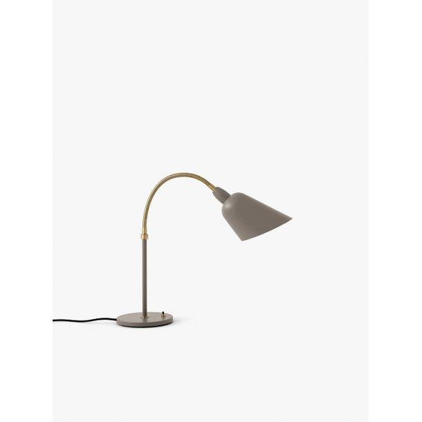 Bellevue AJ8 bordlampe grey beige/brass (udstillingsmodel)
