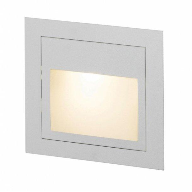 Lite 2 indbygningslampe hvid (Udstillingsmodel)
