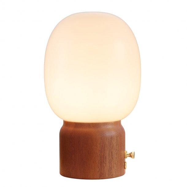 Cream bordlampe