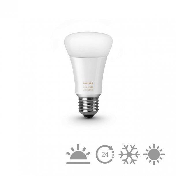 Philips Hue white ambiance 9,5W A60 E27 EU