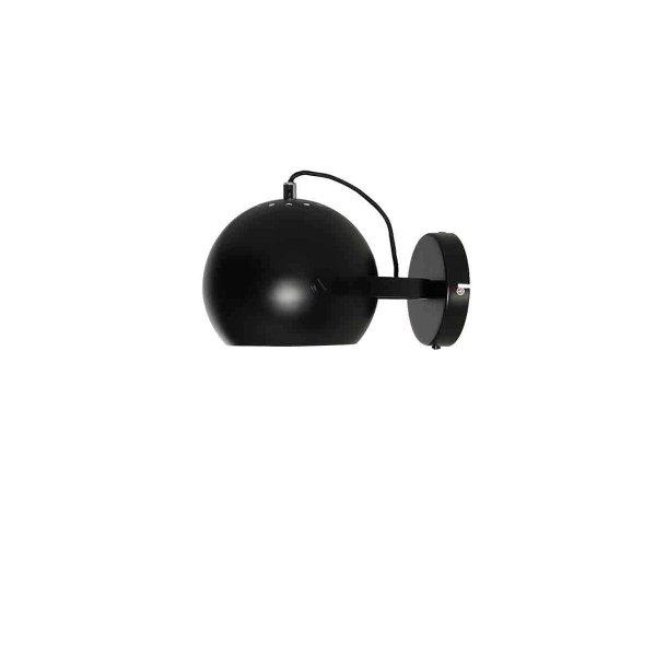 Ball væglampe med håndtag