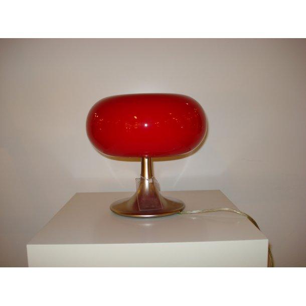 Bubble bordlampe i rød (Udstillingsmodel)