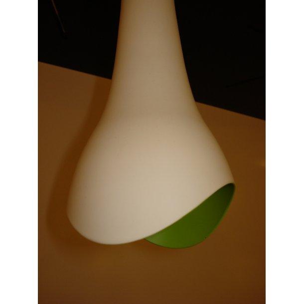 Trunk pendel hvid/grøn (Udstillingsmodel)