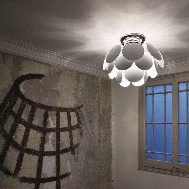 Discocó plafond Ø53 hvid