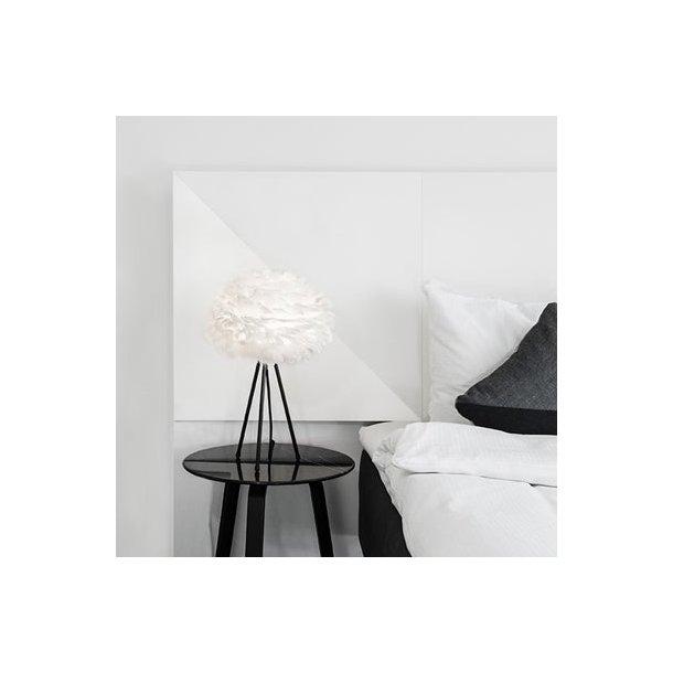 Eos bordlampe hvid mini (skærm + bordstativ) (udstillingsmodel)