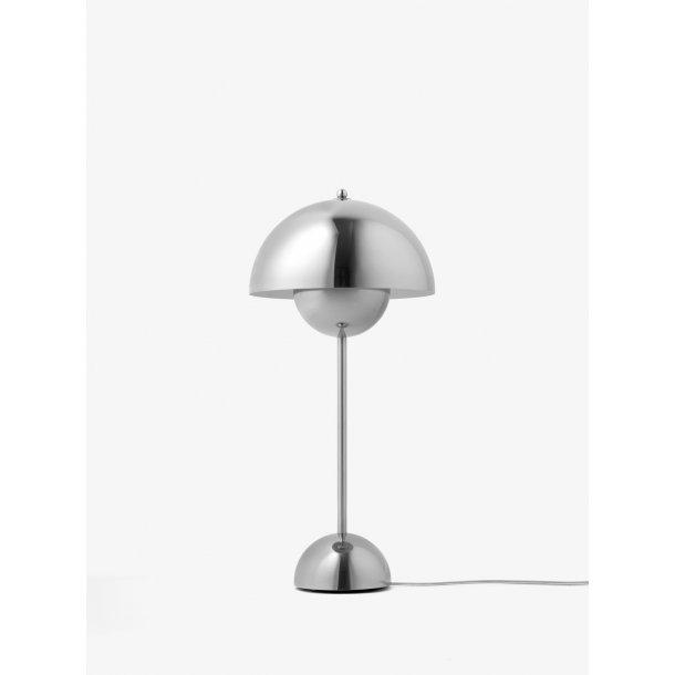 Flowerpot Bordlampe VP3 polished steel (udstillingsmodel)