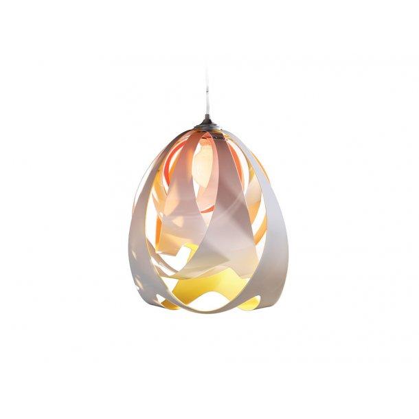 Goccia de luce pendel hvid/gul/orange (Udstillingsmodel)