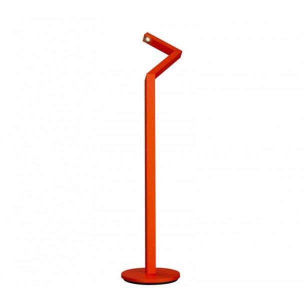 Lirio Nick Knack Gulvlampe rød (Udstillingsmodel)