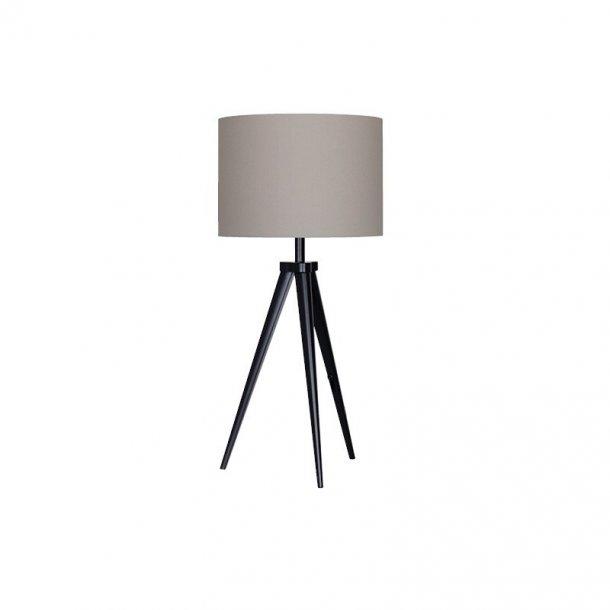 Paso Tri T1 bordlampe sort/grå (udstillingsmodel)