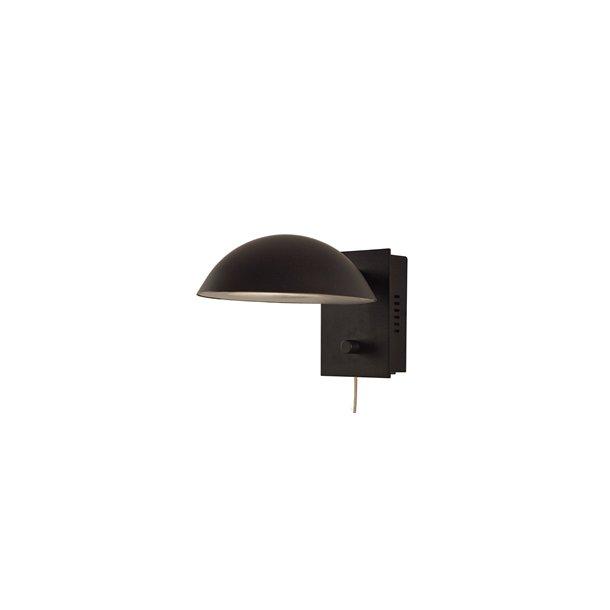 Primo væglampe i sort (UDGÅET)