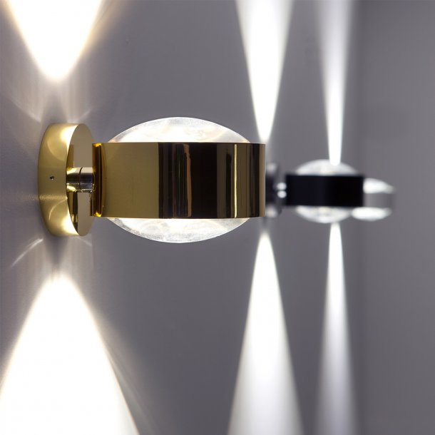 Puk Maxx dobbelt linse væglampe