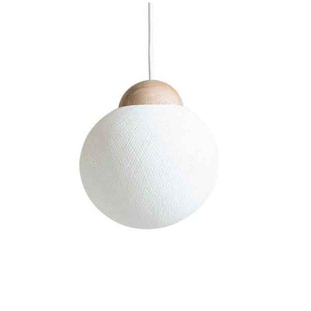 YarnBomb pendel/bordlampe Ø19 natur eg