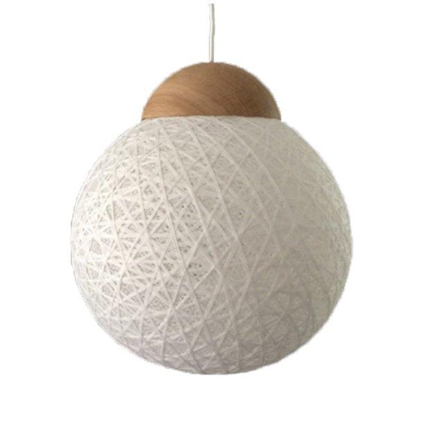 YarnBomb pendel/bordlampe Ø35 natur eg