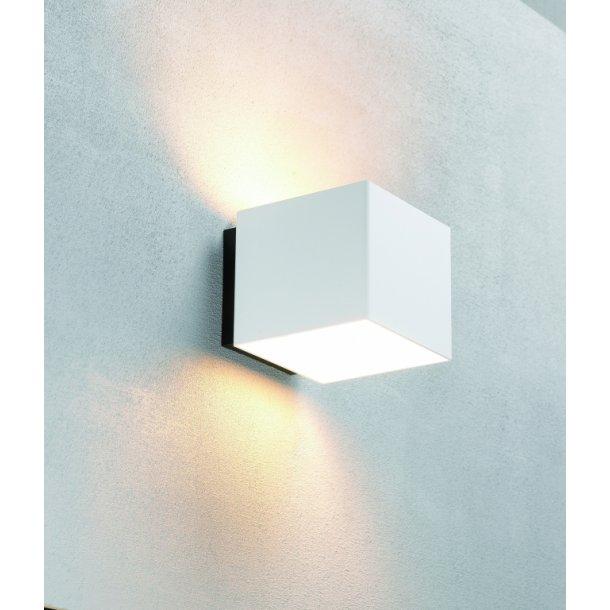 Welcome væglampe hvid