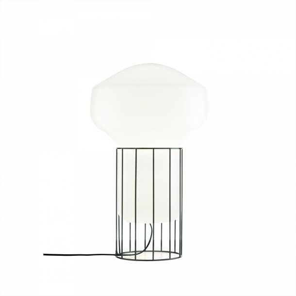 Aerostat bordlampe small sort (udstillingsmodel)