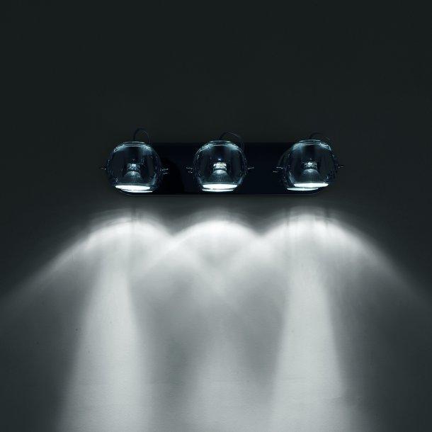Beluga 3 væg/loftlampe