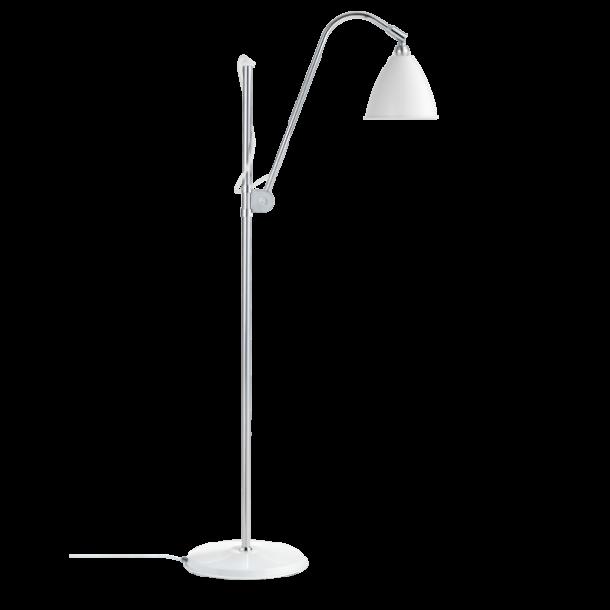 Bestlite BL3S gulvlampe krom/off white (udstillingsmodel)