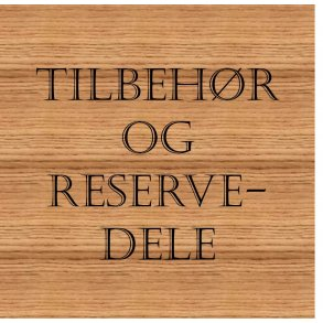 TILBEHØR