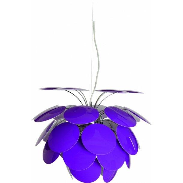 Discocó pendel Ø53 violet (UDGÅET)
