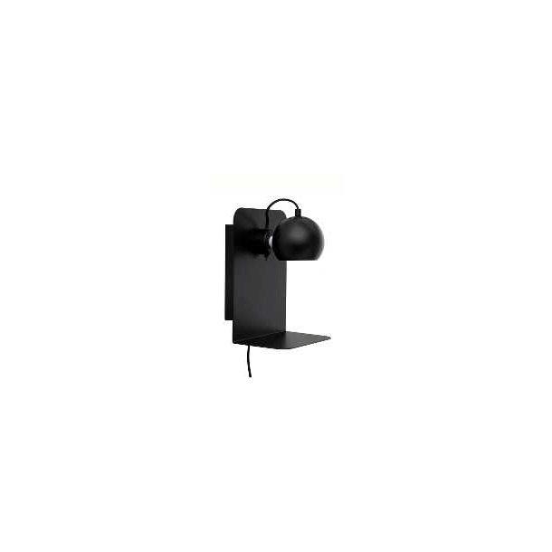 Ball væglampe med USB portal