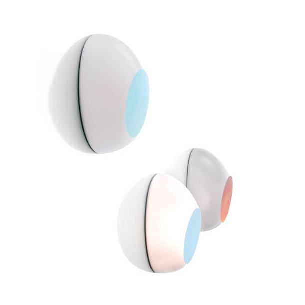 Goggle væg-/loftlampe