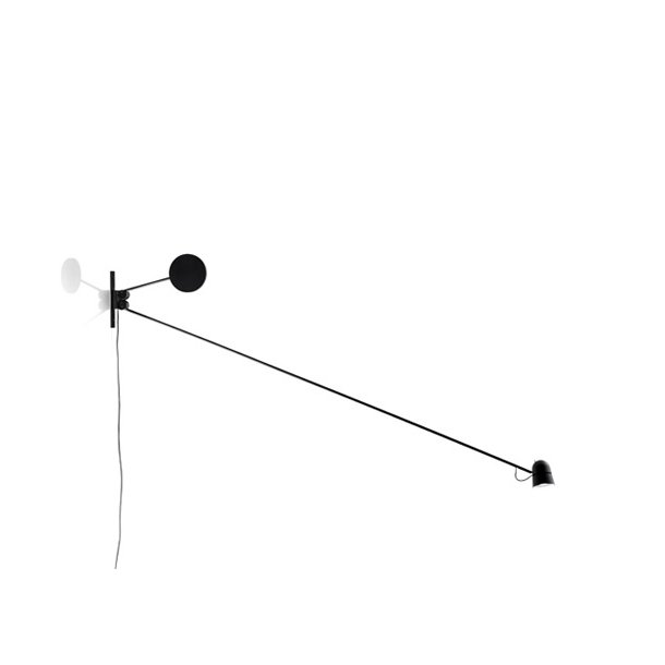 Counterbalance væglampe