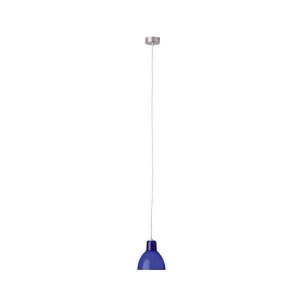 Luxy blå lampe + sort ledning (Udstillingsmodel)