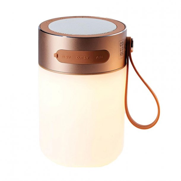 Sound Jar LED lampe/højttaler